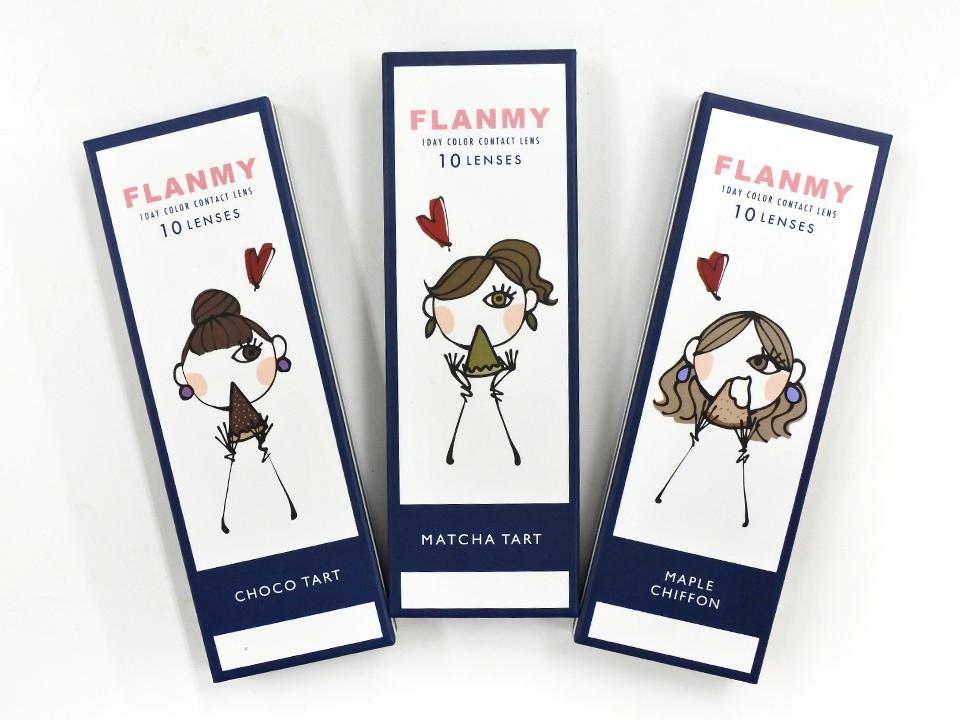 フランミー|FLANMY|フランミー レポ|佐々木希 カラコン|佐々木希|チョコタルトパッケージ