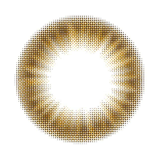 近藤千尋ちぴcolors 1monthカラーズワンマンスマンスリーカラコン|NATURALBROWNナチュラルブラウン